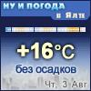 Ну и погода в Ялте - Поминутный прогноз погоды